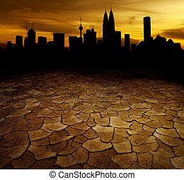 calentamiento del planeta, concepto, imagen