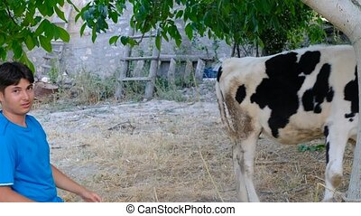 Calf-loving man videos