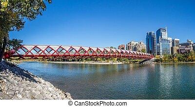 calgary, 人道橋