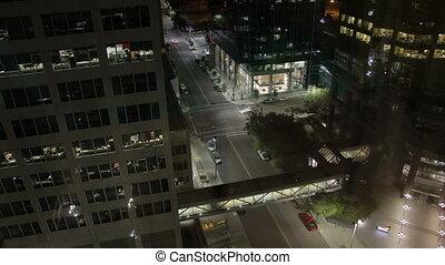 calgary, en ville, sommet, plancher