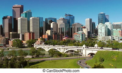Calgary Skyline  - Downtown Calgary skyline