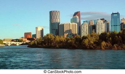 Calgary Waterfront Skyline