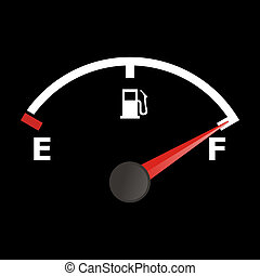 calibrador, combustible
