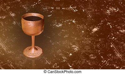 calice, bronze