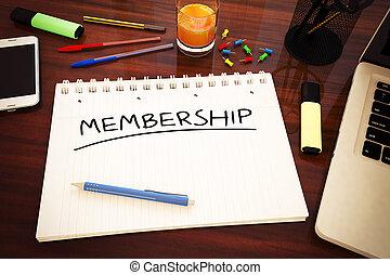 calidad de miembro
