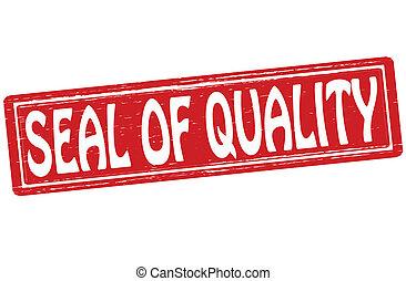 calidad, sello