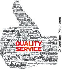 calidad, servicio