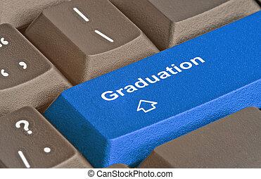 caliente, llave, para, graduación