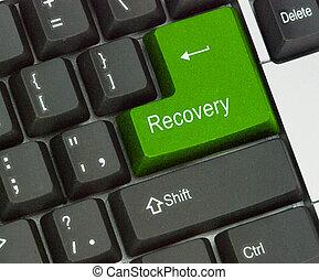 caliente, recuperación, llave