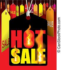 caliente, venta