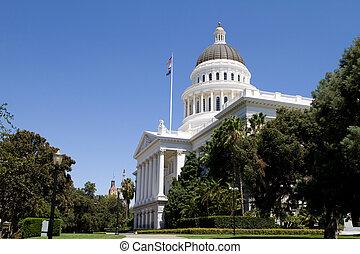californië, capitool, terrein