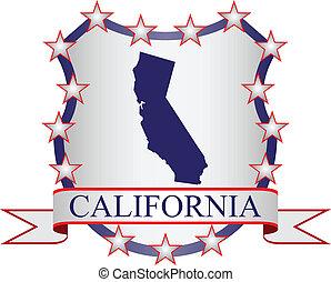 californië, kam