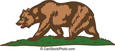 Californi coat of arms - Vector California State coat of...