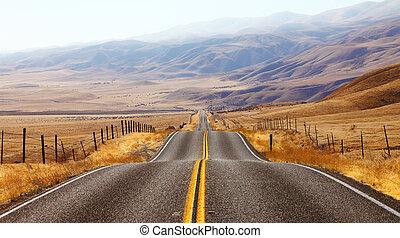 . Magnificent American road