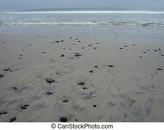 California beach, near San-Diego