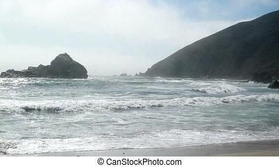 Beach time lapse