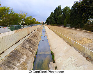 California Canal Drought