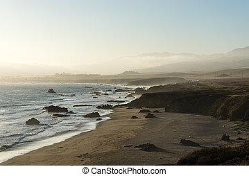 california, centrale, costa