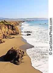 California Coast near San Simeon