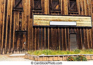 California Columbia a real old Western Gold Rush Town
