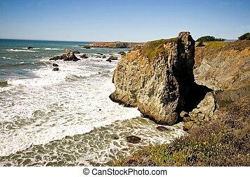 california, costa rocciosa
