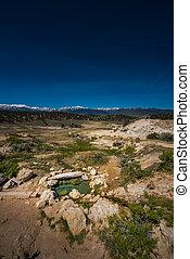 California Hot Springs Bridgeport CA USA - Small Pool ...