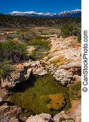 California Hot Springs Bridgeport CA USA - Travertine Hot ...