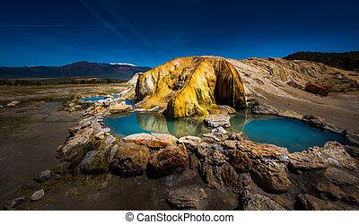 California Hot Springs Bridgeport CA USA - Turquoise Pools ...
