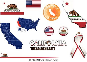 California Icons.eps