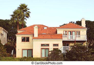 california), maison, (southern