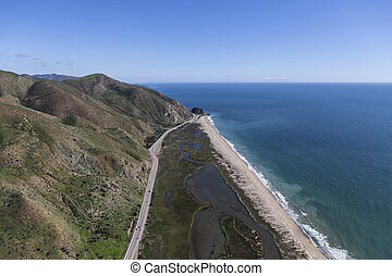 california, malibu, nord