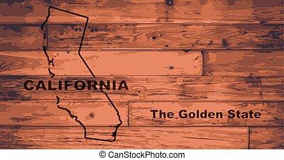California Map Brand