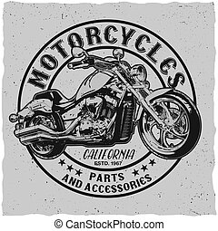 California Motorcycles Poster