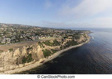 California Pacific Coast Aerial Rancho Palos Verdes