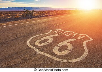 California Route 66 Mojave - California Route 66 and Mojave...