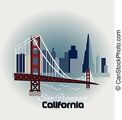 California-San Francisco logo