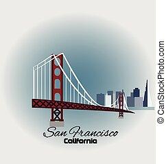 California-San Francisco logo