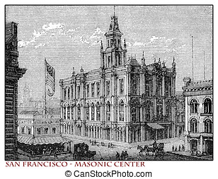 California, San Francisco Masonic Center