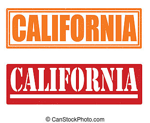 CALIFORNIA stamps