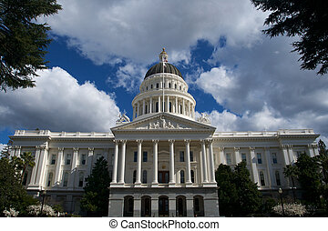 California State Capital close up - an image of the...