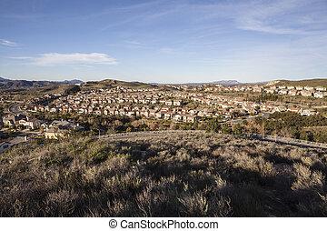 California Suburban Community