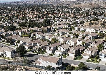 California Suburban Sprawl