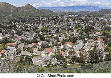 California Suburban Valley