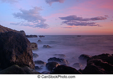 California Sunset - Sunset at Muir Beach, California