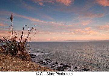 California Sunset - sunset near Santa Cruz, California