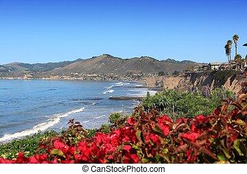 San Luis Obispo county - California, USA - Pacific coast ...