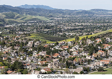 California Valley Suburbs