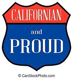 californiano, e, orgulhoso