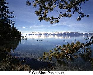 californie, lac tahoe