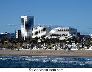 californie méridionale, côte